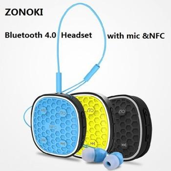 Беспроводная связь Bluetooth гарнитура мода спорт клип наушники стерео музыка наушники fone де ouvido auriculares с микрофоном и NFC