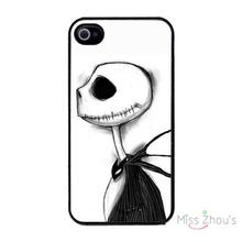 For iphone 4/4s 5/5s 5c SE 6/6s plus ipod touch 4/5/6 mobile cellphone cases cover Halloween Town with Jack Skellington
