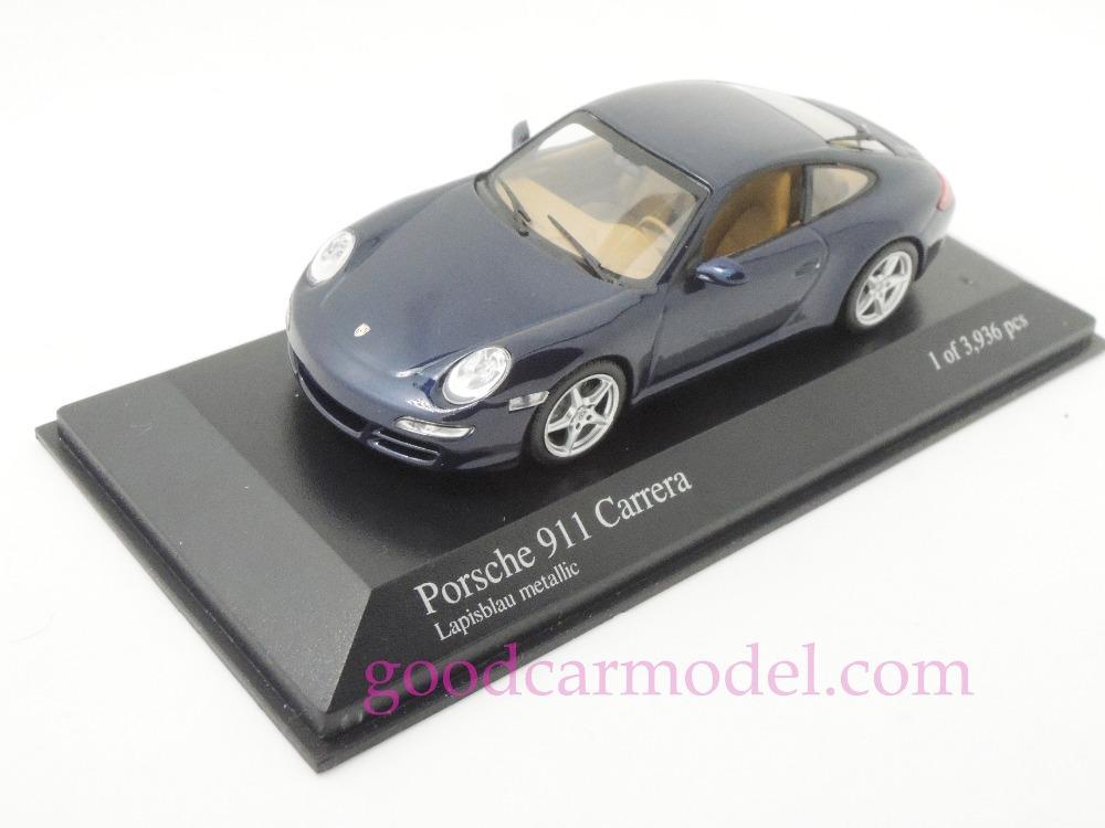 New Minichamps 1:43 Car Model 911 Carrera 2004 400063020 Free Shipping From HK(China (Mainland))