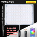 YONGNUO RGB LED Panel Photography Light with Wireless Remote and APP Control LED Display Lamp for