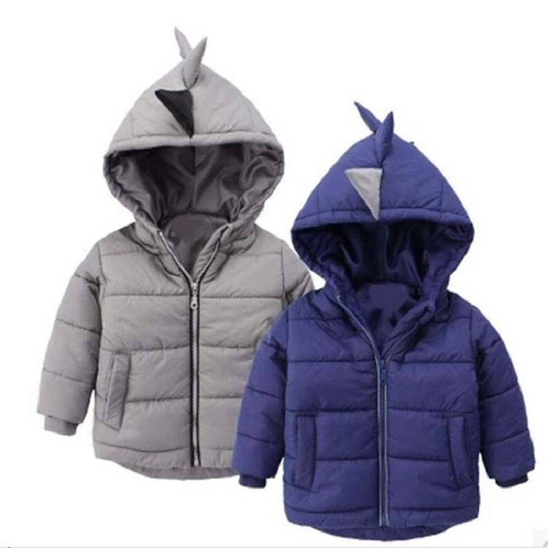 Boys Jacket winter coat Childrens outerwear winter style baby boys and girls warm cartoon coat clothes for 2-6years(China (Mainland))