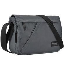 Mixi mode hommes sac d'école garçons bandoulière sacoche un sac à bandoulière messager étanche grande capacité conçu pour les jeunes M5177(China)