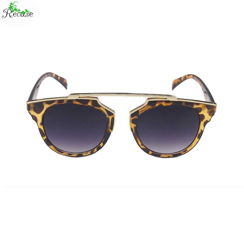 2016 Vintage Dazzle Color Mirror Sunglasses Women Plastic & Alloy Frame PC Lens UV400 Adult Sun Protection Glasses SG-7(China (Mainland))