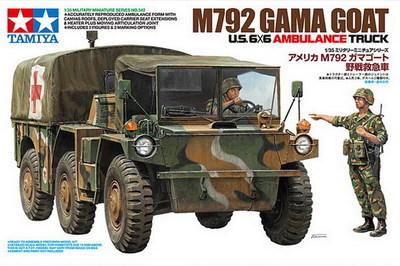 Tamiya 35342 US 6X6 AMBULANCE TRUCK M792 GAMA GOAT 1/35 Model Kit