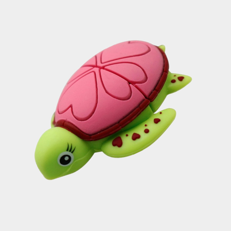 Lovely USB Flash Drive 8GB cartoon Tortoise Turtle memory stick 32GB pen drive 4GB 64GB pendrive16GB Sea turtle USB 2.0 disk(China (Mainland))
