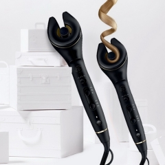 Styler Professional Hair Curler Styling Tools Ceramic Wave Hair Titanium Automatic Hair Roller Magic Curling Iron Stick(China (Mainland))