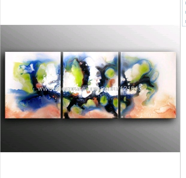 Clearance Oil Paintings Huge Contemporary Decor Mo.