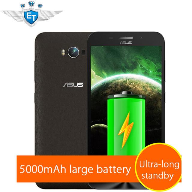Оригинальный ASUS Zenfone макс ZC550KL 5000 мАч батарея 5.5 дюймов 4 г LTE зев MSM8916 четырехъядерных процессоров андроид 5.0 16 ГБ бизнес телефон