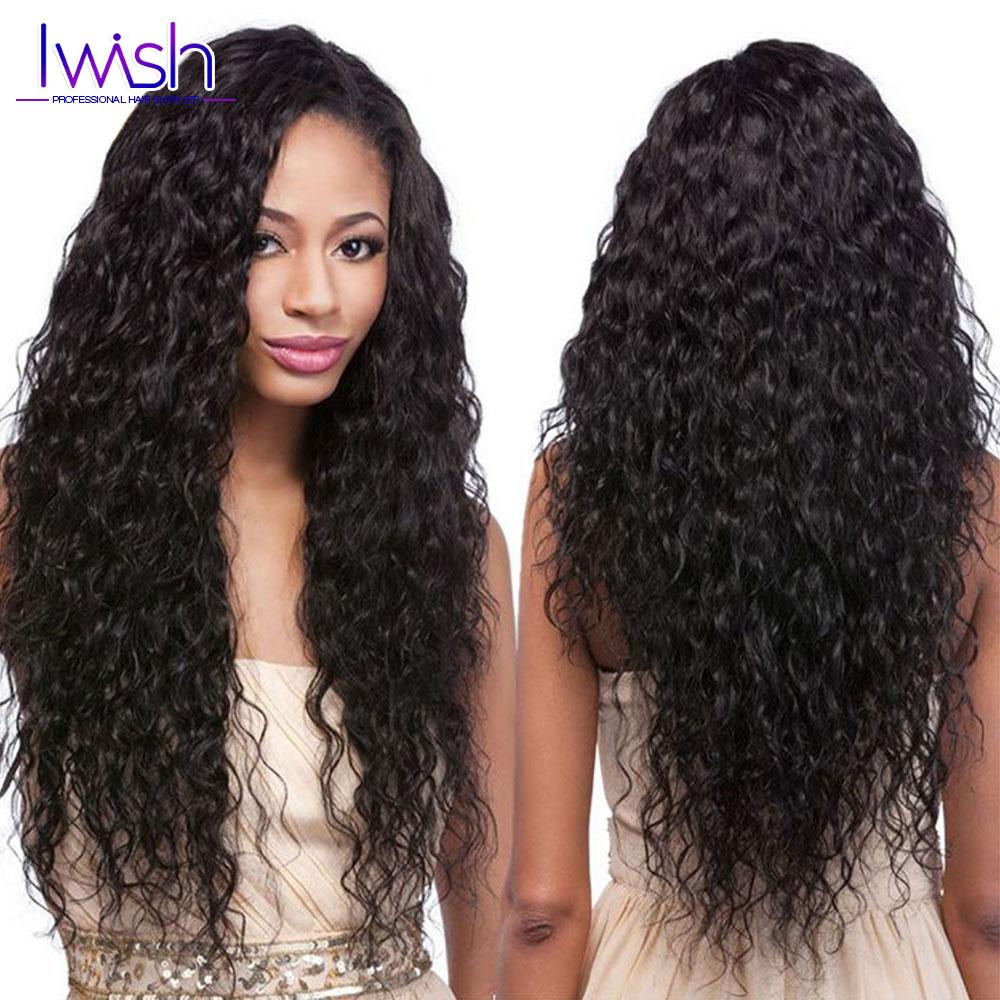 4Pcs Peruvian Water Wave Virgin Hair 7A Peruvian Virgin Hair Natural Wave Bundles Modern Show 1B Wet And Wavy Human Hair Weave <br><br>Aliexpress