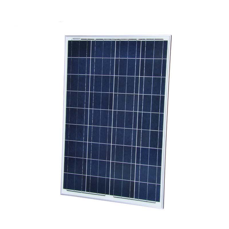 Solar Panel Kit China 100W 12V Poly Photovoltaic Module PWM 10A 12V/24V LCD Display Z Bracket For Caravan Boat RV(China (Mainland))