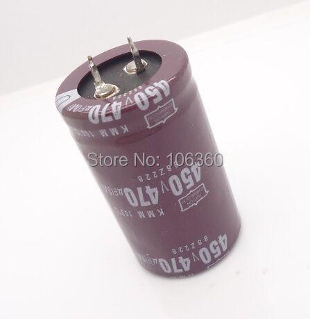 10pcs 470uF 450V NIPPON NCC KMH Series 35x50mm 450V 470uF Aluminum Electrolytic capacitor(China (Mainland))