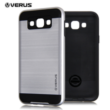 NEW J2  VERUS V5 Armor CASE Neo Hybrid silicon TPU brushed Metal phone case for samsung galaxy J2 j200 Shockproof Covers Case