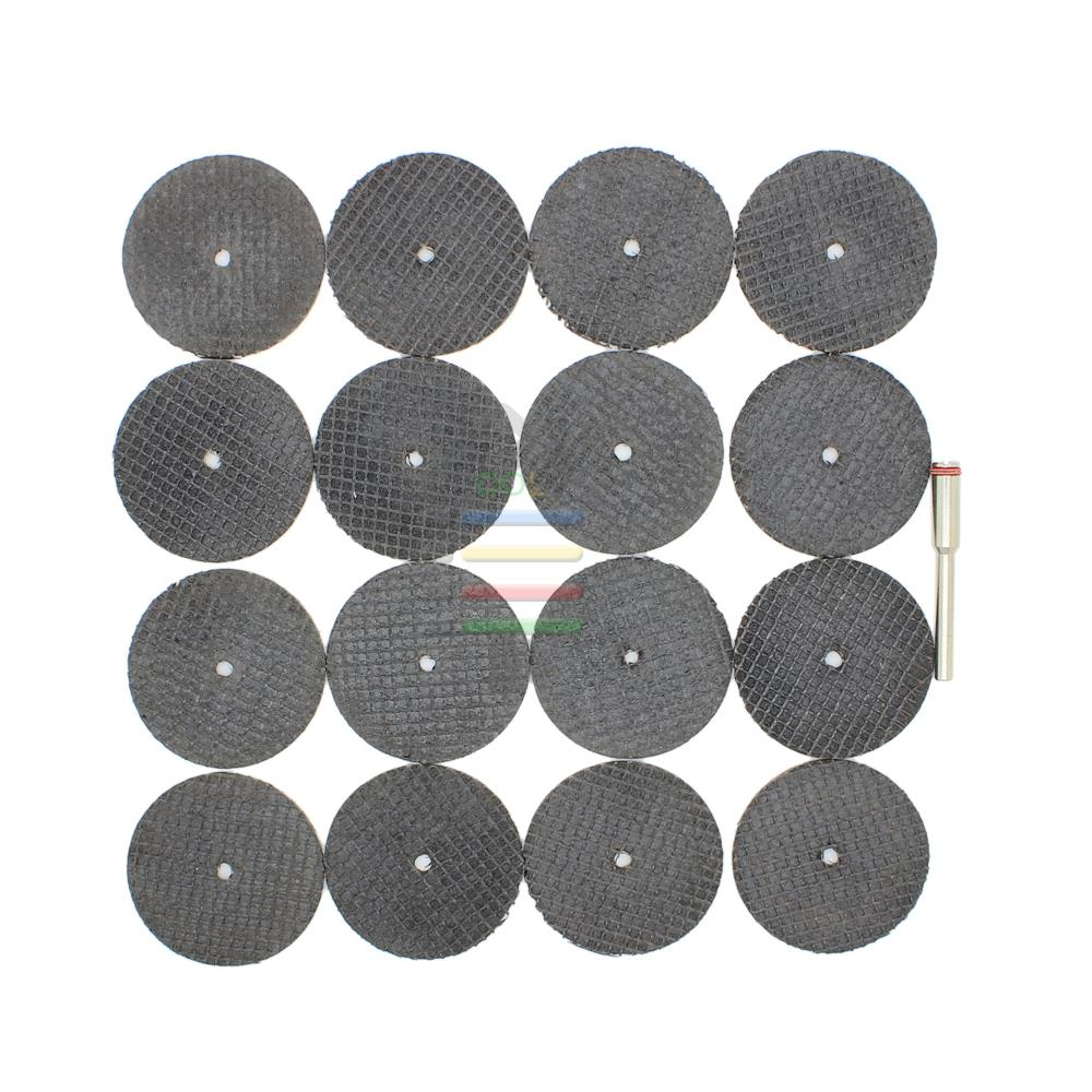 New 25pc Fiberglass Reinforced Cut Off Wheel Disc with Mandrel 1/8 Fit Dremel Grinder Cutting Tool<br><br>Aliexpress