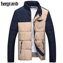 Chaqueta de abrigo con cuello bajo para hombre