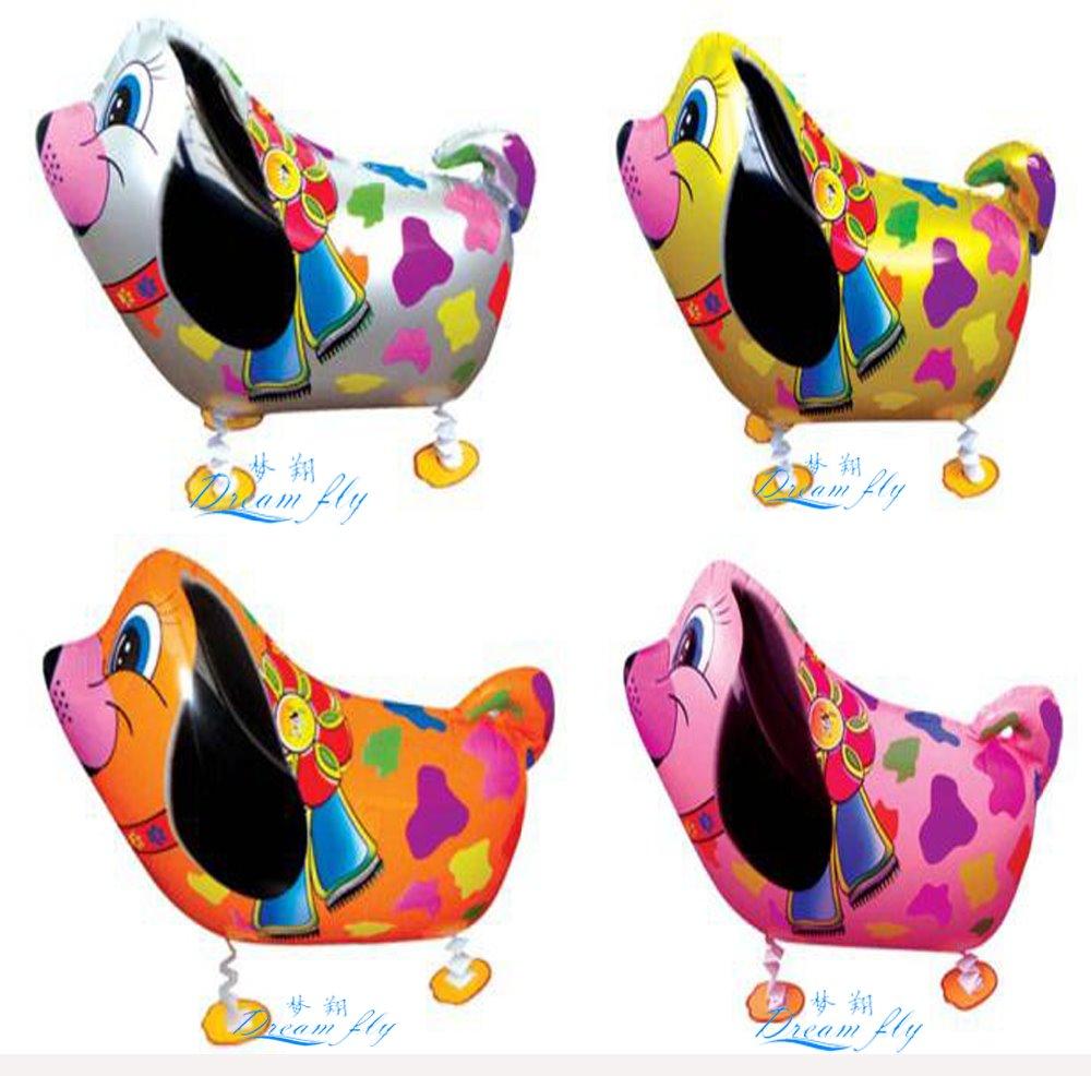 20pcs Free shipping hot sell colorful dog pet waling balloon animals pet balloon(China (Mainland))