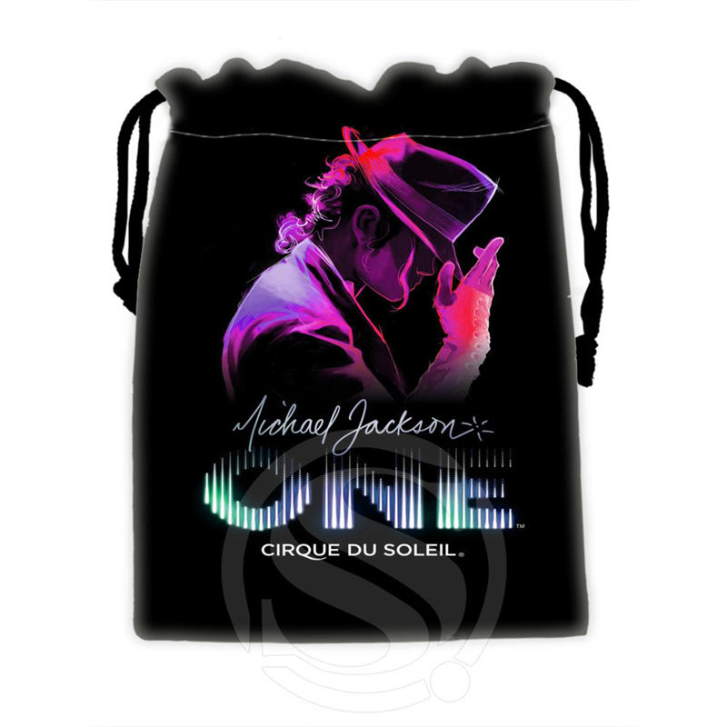 Best Nice Custom Michael Jackson #1 drawstring bags for mobile phone tablet PC packaging Gift Bags18X22cm SQ00715-@H0361(China (Mainland))