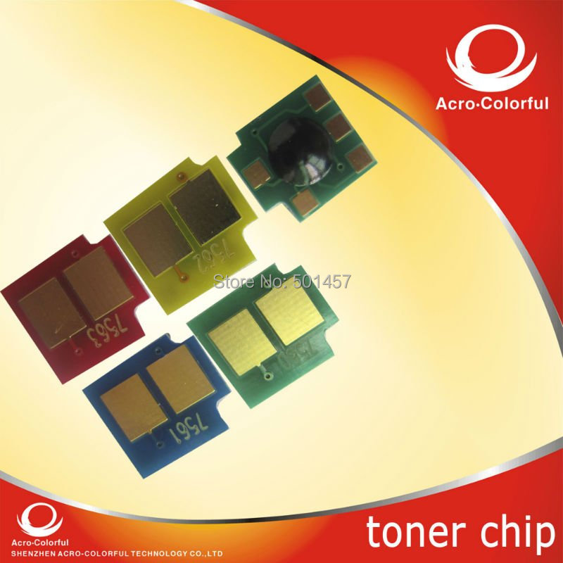 Refilled color Toner Reset smart Chip compatible foFor Hp color Laserjet Pro MFP M 176n M 176fw(China (Mainland))