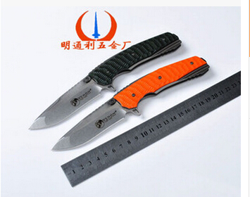 Multi-function handmade folding camping outdoor wilderness survival knife stainless steel knives<br><br>Aliexpress