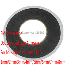 3M Sticker tape Double sided tape Adhesive For housing touch screen LCD 1mm(China (Mainland))