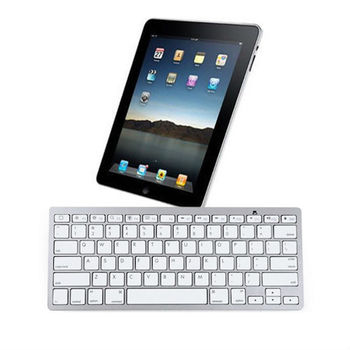 Bluetooth Wireless Keyboard For Android iPad-1 2 3 4 Gen Macbook Mac Computer PC