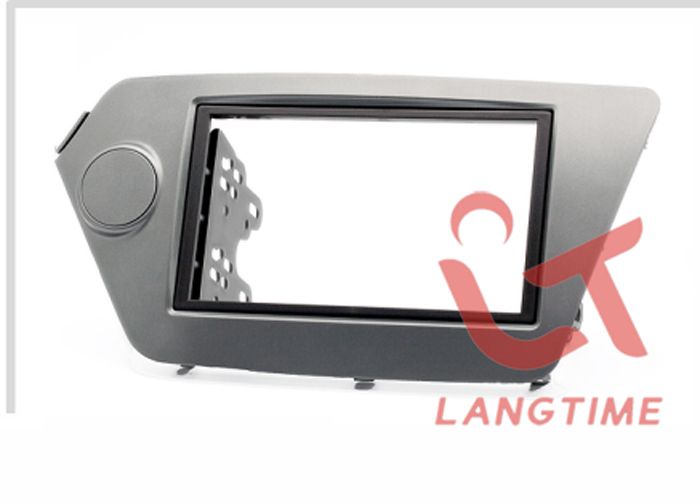 Car refitting DVD frame,DVD panel,Dash Kit,Fascia,Radio Frame,Audio frame KIA Rio,OPTIMA K2,2DIN(left)