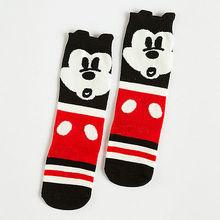 2pcs Toddler Baby Girl Kids Xmas minnie mouse High Knee Socks 0-6Y(China (Mainland))