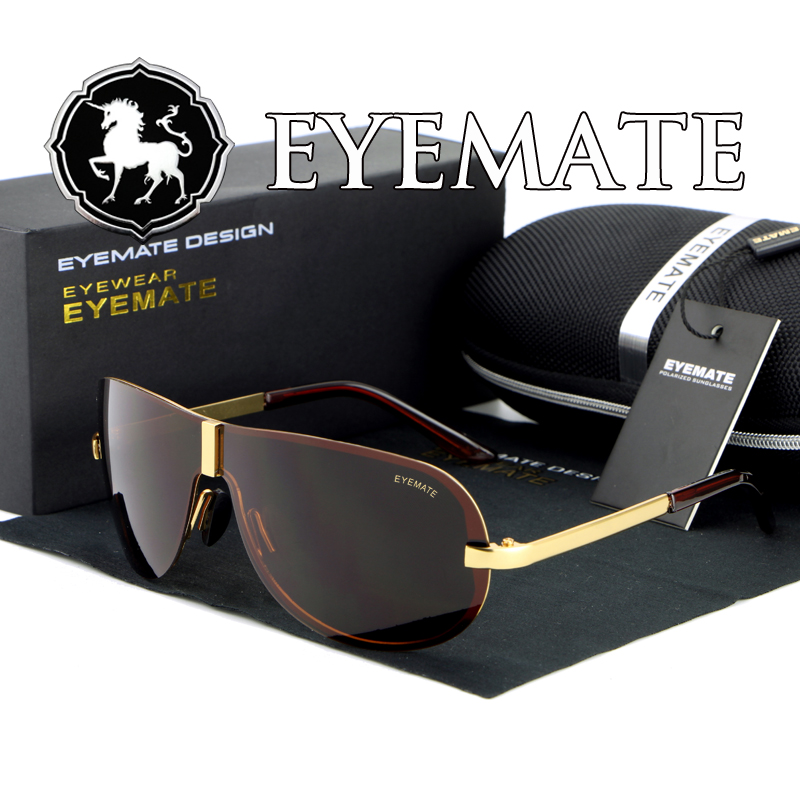 Pilot Classic 2016 hot sale Men High Quality Polarized Brand Driving Sunglasses sun glasses UV 400 Fashion Eye Wear with Box(China (Mainland))