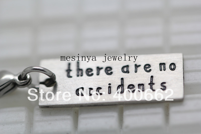 30pcs s.steel there are no accidents charms  for floating locket , glass living locket not included<br><br>Aliexpress