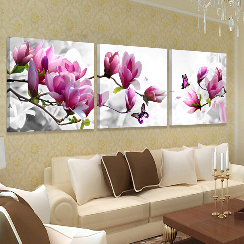 Buy picture wall art hd print canvas oil - Decoracion con cuadros modernos ...