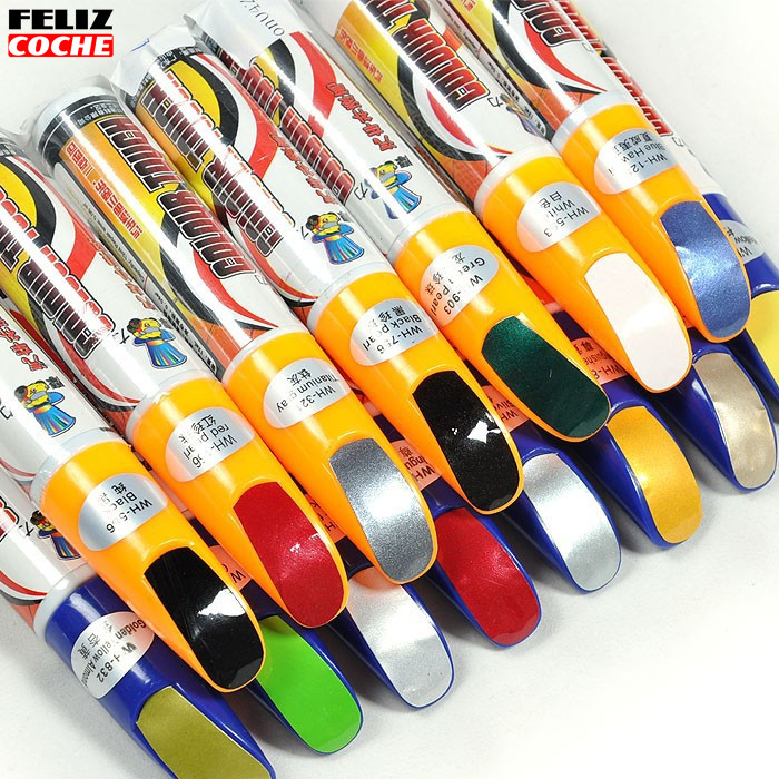FELIZCOCHE New 1Pcs Pro Mending Car Remover Scratch Repair Paint Pen Clear 39colors Choices For Hyundai VW Mazda Toyota A2201(China (Mainland))