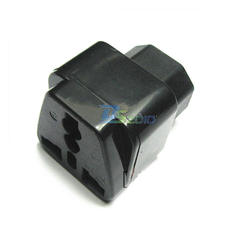 PDU UPS IEC C14 to Universal Female AU US UK EU C13 Socket Power Adapter AC(China (Mainland))