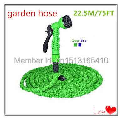 Free Shipping Magic automatic retractable 75 feet 22.5 meters of hose