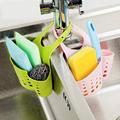 Mini Adjustable Buckle Hanging Rack Shelves Soap Kitchen Wash Sponge Storage Holder Bathroom Supplies