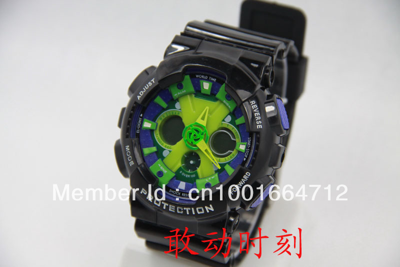 Fashion new sport men watch,Ga120 g watch,digital watches,rubber silicone led wristwatch,free shipping