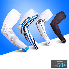 2016 New Cycling Arm Warmers Sleeves Sun UV Protective/Cooling MTB Bike Bicycle Armwarmers/Fishing Outdoor Sporting Arm Sleeves(China (Mainland))