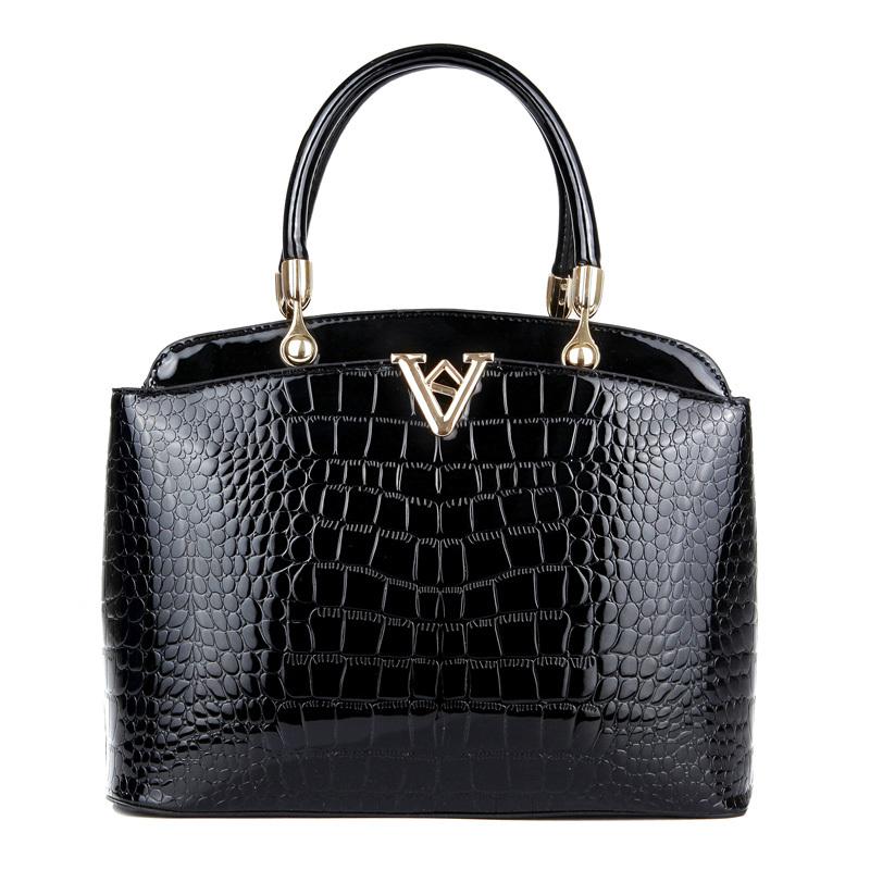 Bolsa Feminina Light Alligator Luxury Women Designer Handbags High Quality Hot PU Leather Shoulder Bags Sac a Main Crocodile Bag