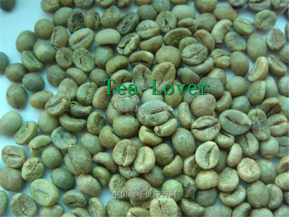 green coffee beans 500g to whole world with free shipping 2014 new organic drinking for slimming