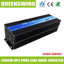 Queenswing 2000 Вт солнечной энергии инвертор чистая синусоида с ибп зарядное и цифровой дисплей ( QW-P2000UPS )