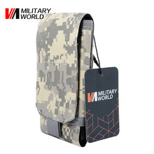 Buy Military World Airsoft Tactical 600D Nylon Molle Waterproof Waist Bag Phone Pouch Case Camping Hiking Belt Ulitity Pouch Bag for $3.47 in AliExpress store