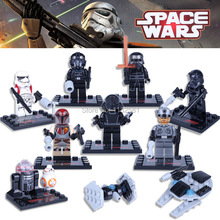 Single Star Wars Minifigures The Force Awakens Building Blocks Action Figures Bricks Toys Compatible Soldier Kylo Ren toy