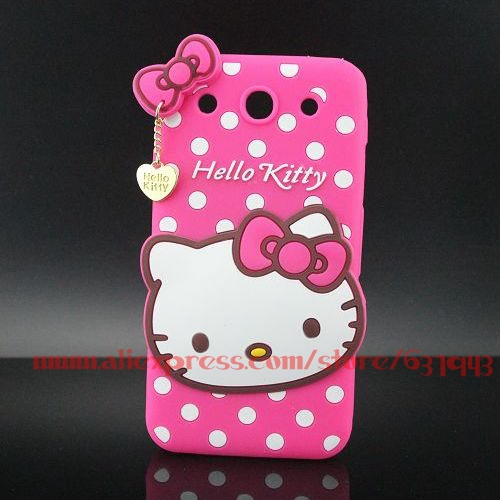 For LG G Pro Case Cover Hot Selling Silicone Hello Kitty Soft Phone Back Cases For LG Optimus G Pro E980 E986 E988 F240(China (Mainland))