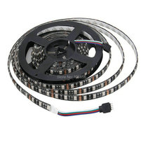 Black PCB LED Strip 5050DC12V Black FPCB Board IP65 Waterproof,60LED/m,5m 300LED,RGB,White,Warm White,Red,Green,Blue(China (Mainland))