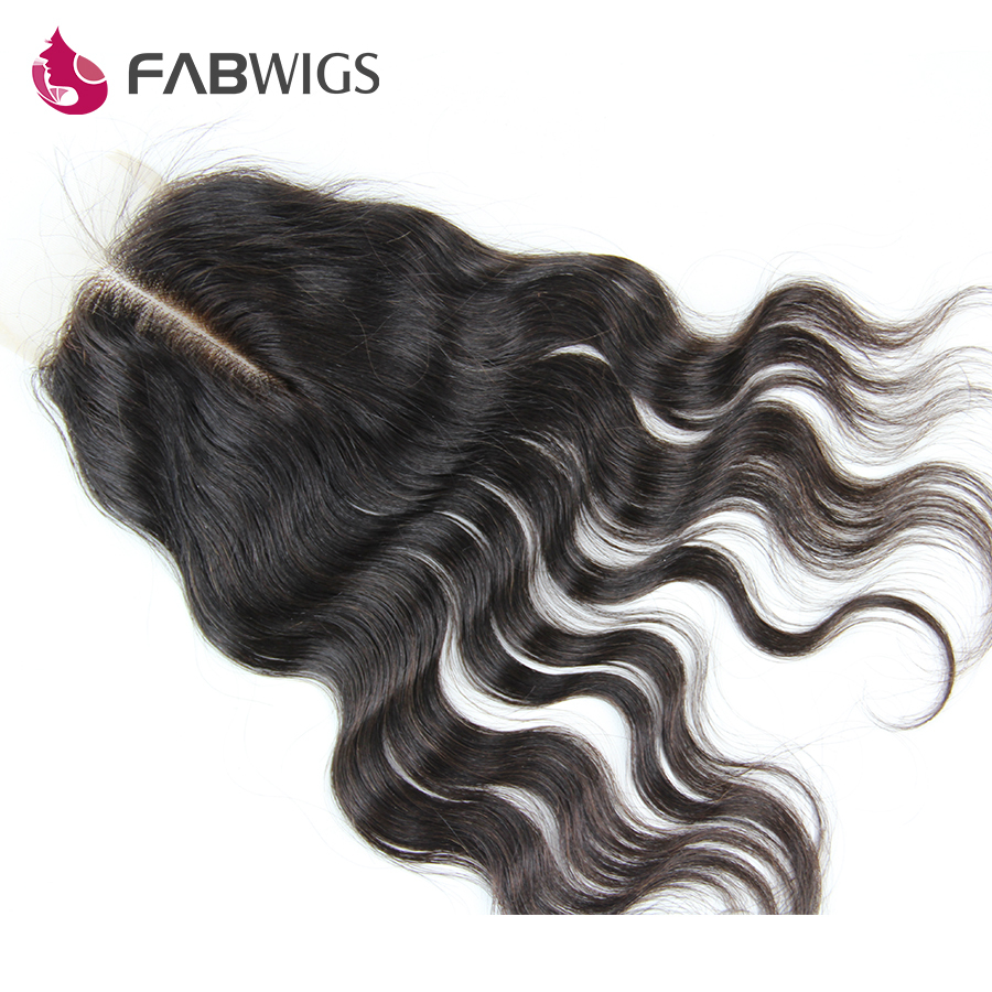 """Гаджет  Cheap Virgin Brazilian Wavy Hair 8-20"""" Lace Top Closure Body Wave 3.5x4"""" Middle Part Lace Closure Bleached Knots Free shipping None Волосы и аксессуары"""