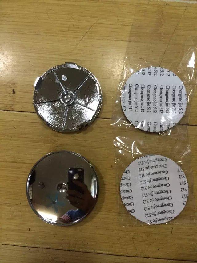 Free shipping 4pcs car wheel hub center cap set dia. 68mm (+/-1mm) with Black color logo emblem for Germany car B**** series(China (Mainland))