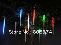 2M 8 X Column String LED Meteor Rain Light(3 X AA supplier)Mul-color