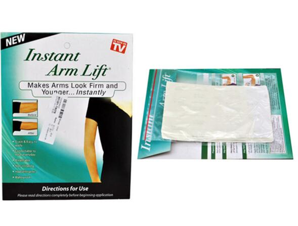 Retail pack Instant arm lift makes arms look firm and younger arm shaping transparent lifting strips sticker AS SEEN ON TV(China (Mainland))