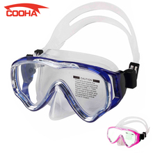 Kids Diving Mask Snorkel Swimming Goggles With Tempered Glass for Children Professional Scuba Diving Equipment Free Spearfishing(China (Mainland))