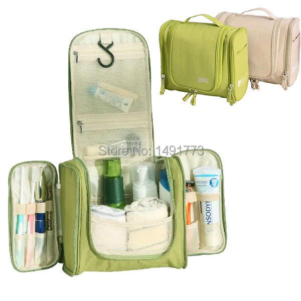 Men's Women's Fashion Waterproof Polyester Cosmetic Makeup Storage Bag Hanging Travel Toiletry Bag(China (Mainland))