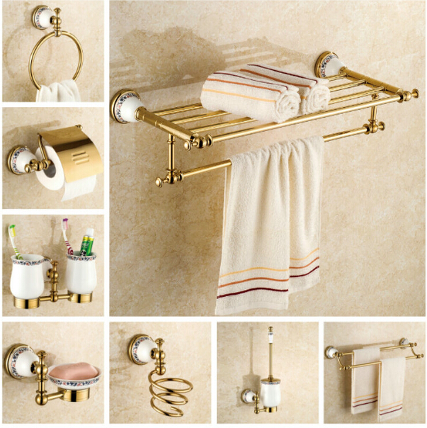 Glass bath shelf reviews online shopping glass bath for Gold glass bathroom accessories