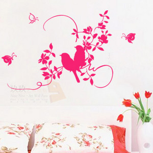 Sticker Wall Decor Out As Self-adhesive Waterproof Wall Post 90225 Bedroom Tv Sofa Background Charactizing A Fine Spring Day(China (Mainland))